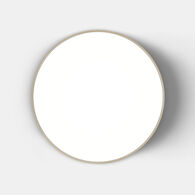 FEBE 2700K LED WALL/CEILING LIGHT, 0241W, Dove Grey, medium