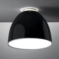 NUR GLOSS LED-T FLUSH MOUNT LIGHT, A2452, Gloss Black, medium