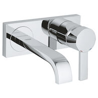 ALLURE WALL MOUNT BATHROOM SINK FAUCET, StarLight Chrome, medium