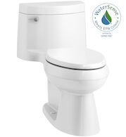 CIMARRON® COMFORT HEIGHT® ONE-PIECE ELONGATED 1.28 GPF TOILET WITH AQUAPISTON® FLUSH TECHNOLOGY, White, medium