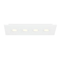 VENUE 25-INCH 3000K LED FLUSH MOUNT LIGHT, 27933, White, medium