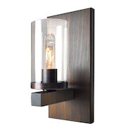 JASPER PARK 1-LIGHT WALL SCONCE, Brunito Bronze, medium