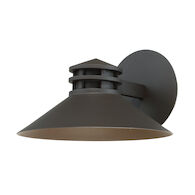 SODOR 10-INCH 3000K LED INDOOR AND OUTDOOR WALL LIGHT, Bronze, medium