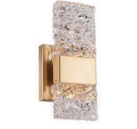 OSLO WALL SCONCE, Brushed Gold, medium