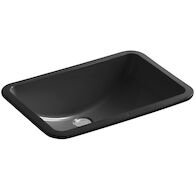 LADENA® 20-7/8 X 14-3/8 X 8-1/8 INCHES UNDERMOUNT BATHROOM SINK, Black Black, medium