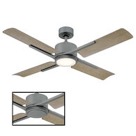 CERVANTES 56-INCH CEILING FAN, Graphite, medium