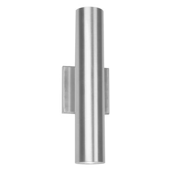 CALIBER 14-INCH 3000K LED INDOOR AND OUTDOOR WALL LIGHT, Brushed Aluminum, large