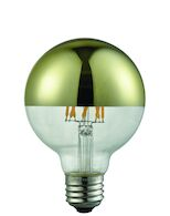 EDISON LED LIGHT BULB 3000K G25, GOLD, , medium