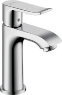 METRIS 100 SINGLE LEVER FAUCET, Chrome, medium