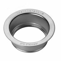 SINK FLANGE, Brushed Stainless Steel, medium