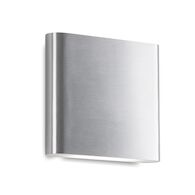 SLATE 6-INCH LED ALL-TERIOR WALL SCONCE LIGHT, Brushed Nickel, medium