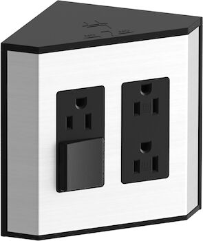 IN-DRAWER ELECTRICAL OUTLETS FOR KOHLER® TAILORED VANITIES, Black, large