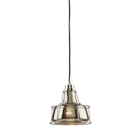 FIFTH AVENUE 1-LIGHT PENDANT, Chrome, medium