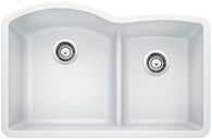 DIAMOND LOW DIVIDE UNDERMOUNT 1.75 SINK, White, medium