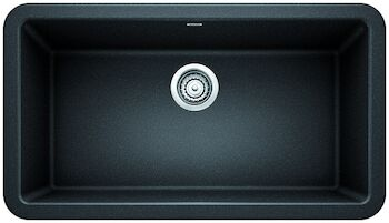 IKON 33 APRON SINK, Anthracite, large