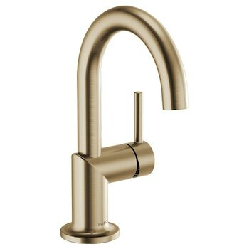 ODIN ECO SINGLE-HANDLE LAVATORY FAUCET, Luxe Gold, large