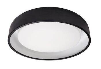 BEACON FLUSH MOUNT, Black, large