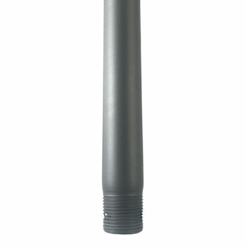 24-INCH CEILING FAN EXTENSION DOWNROD, Graphite, large