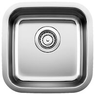 STELLAR UNDERMOUNT BAR SINK, Stainless Steel, medium