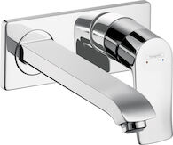 METRIS WALL-MOUNTED SINGLE-HANDLE FAUCET TRIM, Chrome, medium