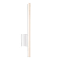 STILETTO 24-INCH DIMMABLE LED WALL SCONCE, Satin White, medium
