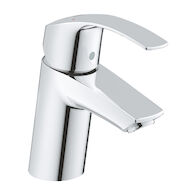 EUROSMART BATHROOM SINK FAUCET WITHOUT POP-UP, StarLight Chrome, medium