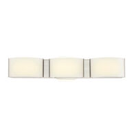 DAKOTA 3-LIGHT LED VANITY LIGHT, Nickel, medium