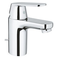 EUROSMART COSMOPOLITAN BATHROOM SINK FAUCET, StarLight Chrome, medium