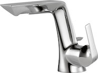 SOTRIA SINGLE HANDLE SINGLE HOLE LAVATORY FAUCET, Chrome, medium