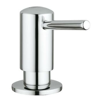 TIMELESS SOAP AND LOTION DISPENSER, StarLight Chrome, large