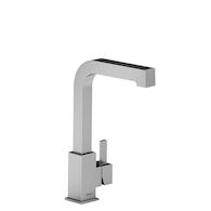 MIZO SINGLE HOLE PREP SINK FAUCET, Chrome, medium