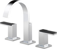 SIDERNA WIDESPREAD LAVATORY FAUCET - LESS HANDLES, Chrome, medium