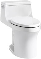 SAN SOUCI® COMFORT HEIGHT® ONE-PIECE COMPACT ELONGATED 1.28 GPF TOILET WITH AQUAPISTON® FLUSHING TECHNOLOGY, White, medium