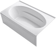 WINDWARD® 72 X 42 INCHES ALCOVE BATHTUB WITH INTEGRAL APRON AND RIGHT-HAND DRAIN, White, medium
