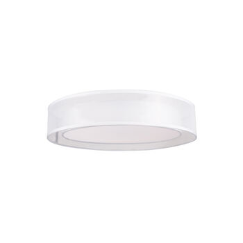 COVINA ROUND 3000K LED FLUSH MOUNT LIGHT, White, large