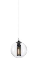 TRIBECA PENDANT, Textured Black, medium