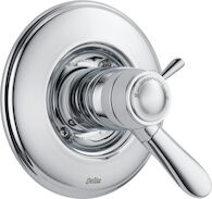 LAHARA TEMPASSURE 17T SERIES VALVE TRIM ONLY, Chrome, medium