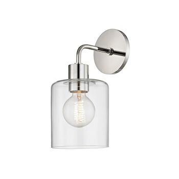MITZI NEKO 1-LIGHT WALL SCONCE LIGHT, H108101, Polished Nickel, large
