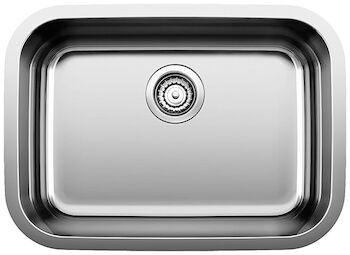 ESSENTIAL UNDERMOUNT SINGLE BOWL SINK, Stainless Steel, large