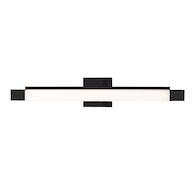 VEGA 27.5-INCH LED VANITY LIGHT, Black, medium