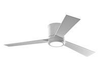 CLARITY 52-INCH CEILING FAN, Matte White, medium