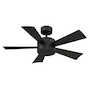 WYND 42-INCH 3000K LED CEILING FAN, Matte Black, small