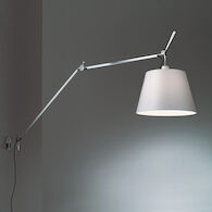 TOLOMEO MEGA WALL LAMP, Aluminum/Fiber, medium