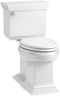 MEMOIRS® STATELY COMFORT HEIGHT® TWO-PIECE ELONGATED 1.28 GPF TOILET WITH AQUAPISTON® FLUSHING TECHNOLOGY, White, medium