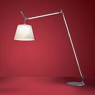 TOLOMEO MAXI FLOOR LAMP, Aluminum, medium