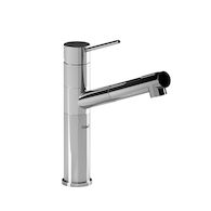 CAYO KITCHEN FAUCET WITH 2-JET PULL OUT SPRAY, Chrome, medium