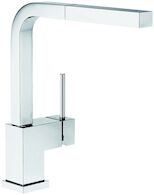 SILHOUETTE PULL OUT FAUCET, Chrome, medium