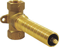 SENSORI VOLUME CONTROL ROUGH, Brass, medium