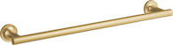 PURIST® 18-INCH TOWEL BAR, Vibrant Moderne Brushed Gold, medium