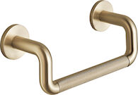 LITZE 8-INCH MINI TOWEL BAR WITH KNURLING, Brilliance Luxe Gold, medium